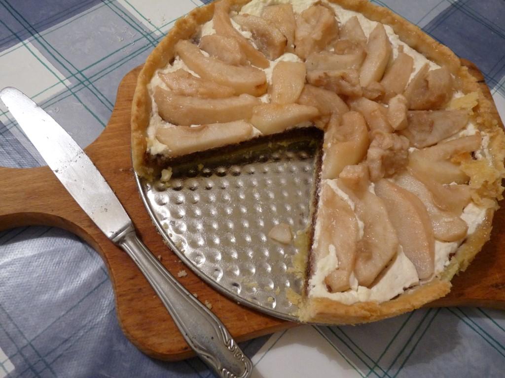 Pita s kruškama, sirom i orasima