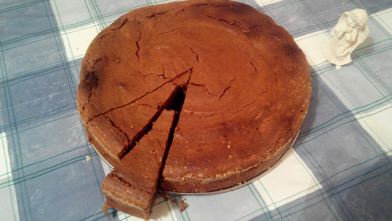 Torta s čokoladom i kestenom