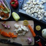 O karfiolu. Recept za juhu, salatu i jednu pitu od limuna koja nema s karfiolom veze.