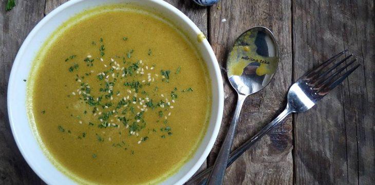 Bučina krem juha s pastrnjakom