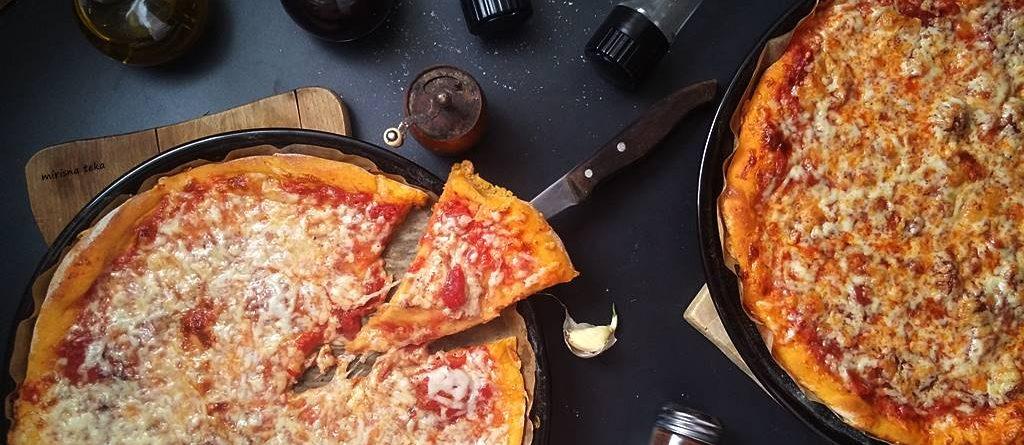 Narančasta pizza (od slatkog krumpira)