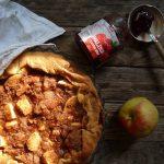 Dizana pita s pekmezom i jabukama