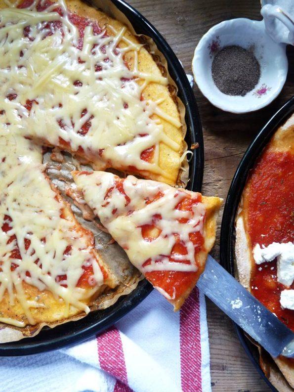 Kukuruzna pizza - tijesto sa žutom, bogatom palentom! Elastično, mekano a ipak rustično, nadjeveno vašim omiljenim nadjevom, zadovoljit će i najzahtjevnije!