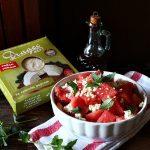 Salata od lubenice, mente i sira