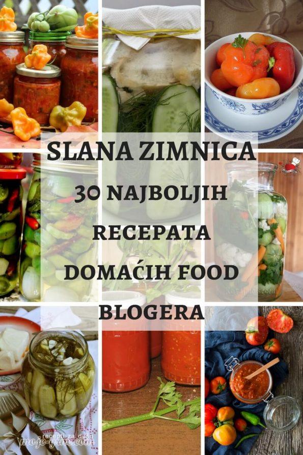 Slana zimnica - 30 najboljih recepata domaćih food blogera