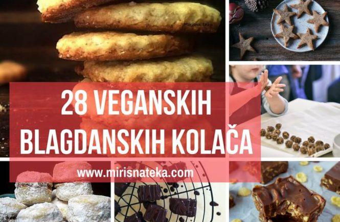 Zbirka od čak 28 veganskih slastica okupljenih u receptima mojih kolega food bloggera. Posladimo se ovih blagdana!
